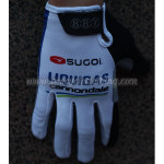 2015 Team LIQUIGAS cannondale SUGOi Cycling Gloves Full Fingers White
