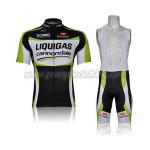 2011 Team LIQUIGAS cannondale Cycling Bib Kit Black