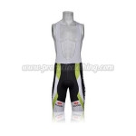 2011 Team LIQUIGAS cannondale Cycling Bib Shorts Black