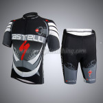 2014 Team Castelli Cycling Kit Black Grey