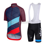 2015 Team Rapha Racing Bib Kit Blue Red