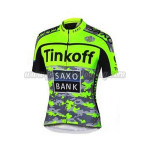 2015 Team Tinkoff SAXO BANK Cycle Jersey Fluorescent Green