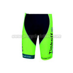 2015 Team Tinkoff SAXO BANK Cycling Shorts Fluorescent Green