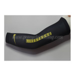 2012 Team LIVESTRONG Cycling Arm Warmers Sleeves Black Yellow