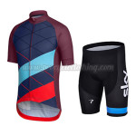 2015 Team Rapha Racing Kit Blue Red