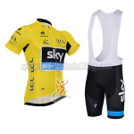 2015 Tour de France SKY Riding Bib Kit Yellow