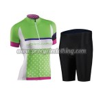 2016 Team Northwave Womens' Bicycle Kit Green