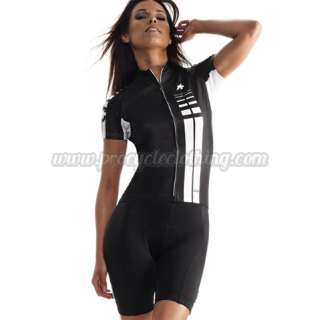 2015 Team ASSOS Womens Pro Bike Clothing Set Cycle Jersey and Shorts ... 9a791e952