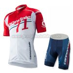 2015 Team Cannondale 71 Bicyle Kit Red White