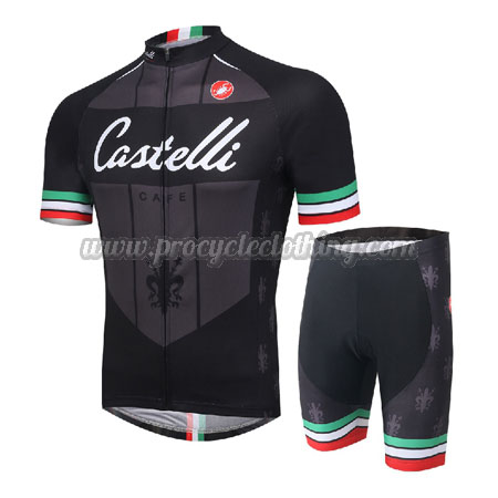 7e6f823f3 2016 Team Castelli CAFE Pro Bike Clothing Set Cycle Jersey and ...