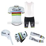 2016 Team Tinkoff UCI Champion Cycling Bib Set 5-piece