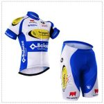 2016 Team TopSport Baloise Cycling Kit White Blue Yellow