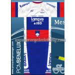 2012 Team Lampre ISD Slovenia Cycling Kit White Blue Red