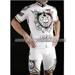2012 Team ROCK RACING Italia Cycling Kit White Red Green