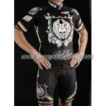 2012 Team ROCK RACING National Italia Cycling Kit Black Red Green