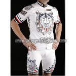 2012 Team ROCK RACING National US Cycling Kit White Red Blue