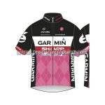2013 Team GARMIN SHARP Cycling Jersey Maillot Shirt Black Pink