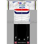 2014 Team QUICK STEP latexco Cycling Kit White