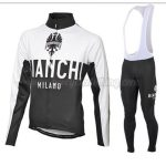 2016 Team BIANCHI Cycling Bib Suit White