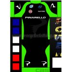 2016 Team PINARELLO Cycling Kit Black Green