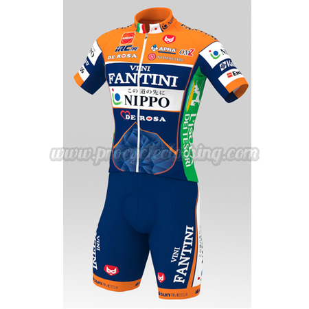 2016 Team VINI FANTINI NIPPO DE ROSA Riding Apparel Summer Winter ... d207a5893