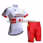 2017 Team AG2R LA MONDIALE CANADA Cycle Kit White Red