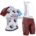 2017 Team AG2R LA MONDIALE Cycling Bib Kit