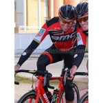 2017 Team BMC Cycling Long Suit Red Black