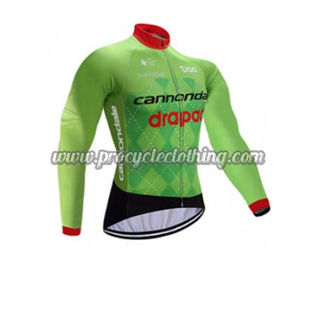cc0467338 2017 Team Cannondale drapac Pro Riding Clothing Cycle Long Sleeves ...