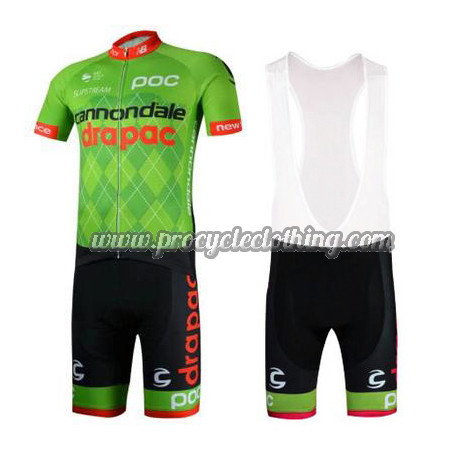 606d0e881 2017 Team Cannondale drapac Biking Outfit Cycle Jersey and Padded ...
