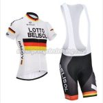 2017 Team LOTTO BELISOL Cycling Bib Kit White