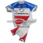 2012 Team ORBEA Cycling Kit Blue White Red