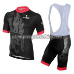 2015 Team BIANCHI Racing Bib Kit Black Red