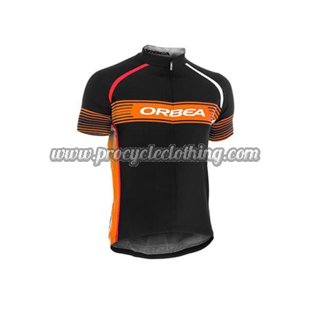 2015 Team ORBEA Pro Bike Clothing Cycle Jersey Maillot Shirt Black ... 3b2d402fc
