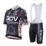 2017 Team GCN Santini Riding Bib Kit Black