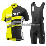 2017 Team GIANT Riding Bib Kit Yellow Black