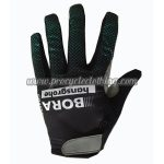 2017 Team BORA hansgrohe Cycling Full Fingers Gloves Black Blue