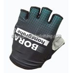 2017 Team BORA hansgrohe Cycling Gloves Mitts Half Fingers Black Blue