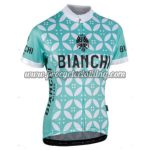 2017 Team BIANCHI MILANO Riding Jersey Maillot Shirt Green White Flower