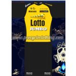 2017 Team LOTTO JUMBO Cycling Set Black Yellow