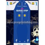 2017 Team QUICK STEP Cycling Set Blue White
