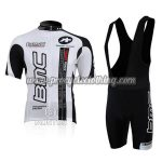 2010 Team BMC Riding Bib Kit White Black