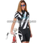 2017 Team BIANCHI Womens Cycling Kit Black White Blue