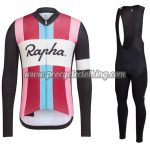 2017 Team Rapha Womens Cycling Long Bib Suit