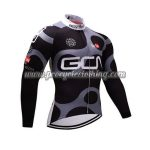 2017 Team GCN Cycling Long Jersey Black Grey