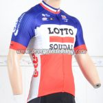 2018 Team LOTTO SOUDAL Cycling Jersey Shirt Blue White Red