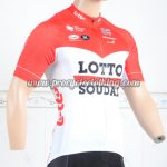 2018 Team LOTTO SOUDAL Cycling Jersey Shirt Red White