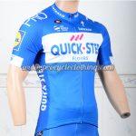 2018 Team QUICK STEP Cycling Jersey Shirt Blue