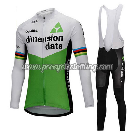 dee59236a 2018 Team Dimension data Winter Riding Outfit Thermal Fleece Cycle ...