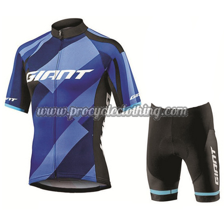 063eb7de7 2018 Team GIANT Riding Outfit Set Cycle Jersey and Shorts Bottoms ...